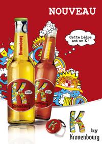 K by Kronenbourg marque caution