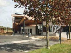 Bâtiment du nouveau centre de formation Nicoll