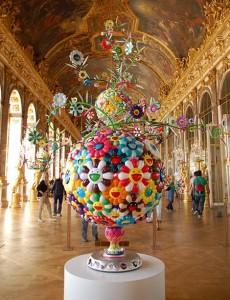 Murakami à Versailles