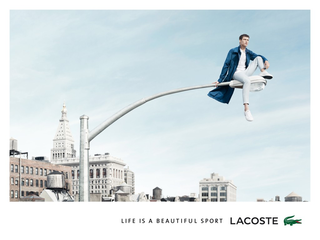 Image campagne Lacoste